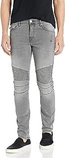True Religion Men's Rocco Biker Skinny Fit Jean