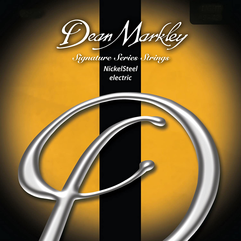 Dean Markley DM-2502C-LT - Juego de cuerdas de acero de níquel