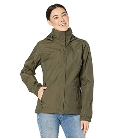 The North Face Resolve 2 Jacket (New Taupe Green) Women