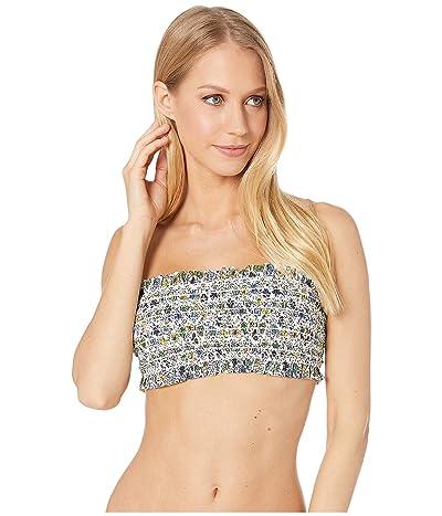 Tory Burch Swimwear Costa Bandeau Top (Love Floral Degrade) Women