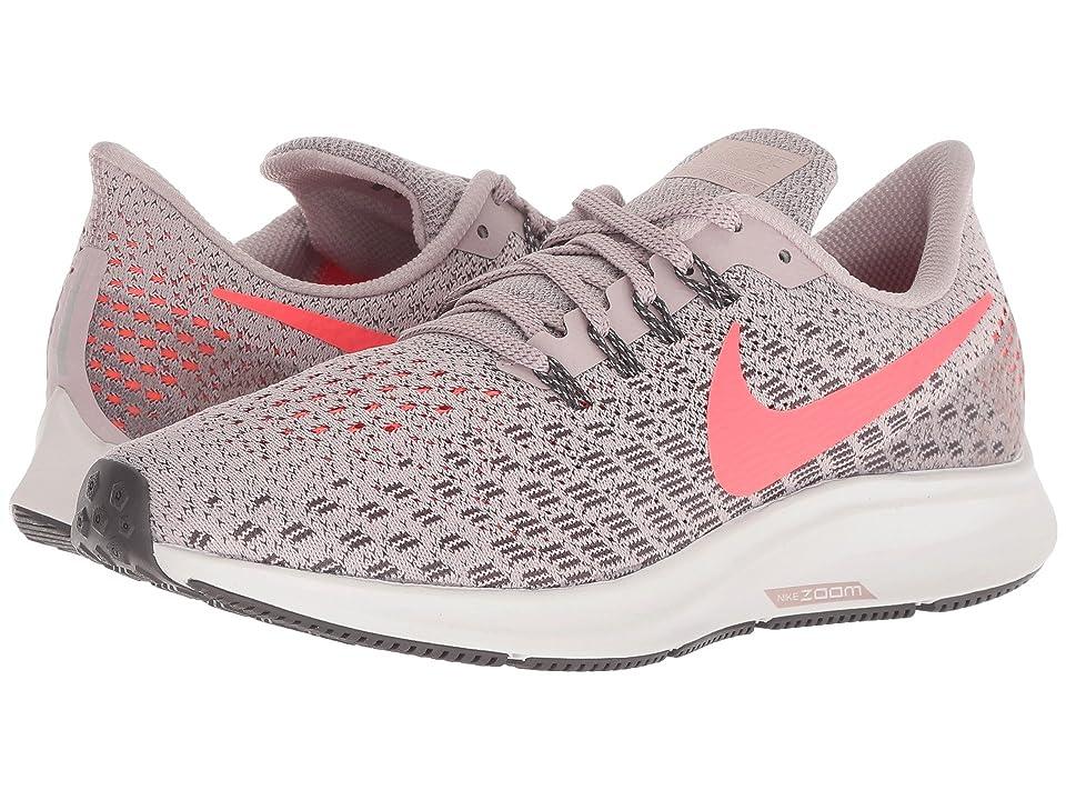 Nike Air Zoom Pegasus 35 (Particle Rose/Flash Crimson/Thunder Grey) Women