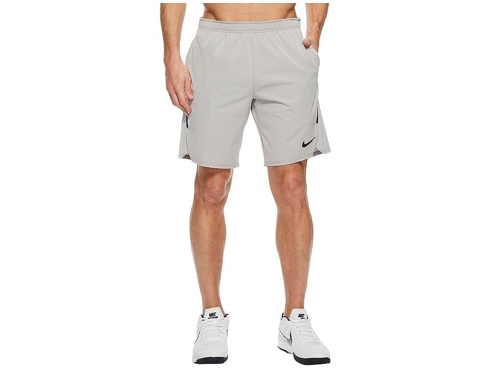 Nike Court Flex Ace 9 Tennis Short (Atmosphere Grey/Black/Black) Men