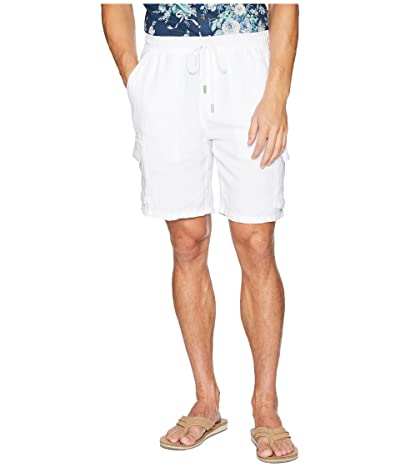 Vilebrequin Drawstring Pocket Shorts (White) Men