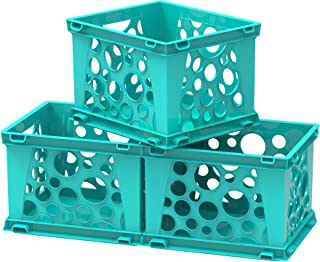 Best teal plastic crate Reviews