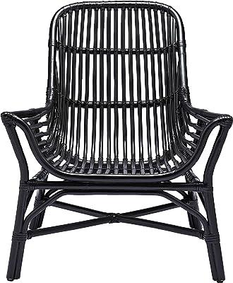 House Doctor Colonie Chaise Longue Noir 74 x 71 cm