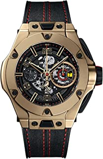 Limited Edition Magic Gold Hublot Big Bang Unico Ferrari 45mm Mens Watch