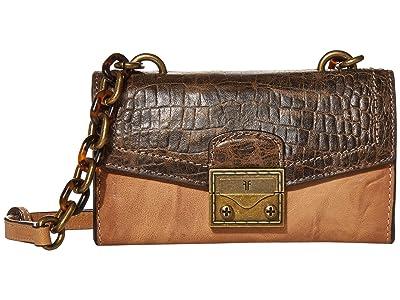 Frye Ella Phone Crossbody (Beige Multi) Handbags