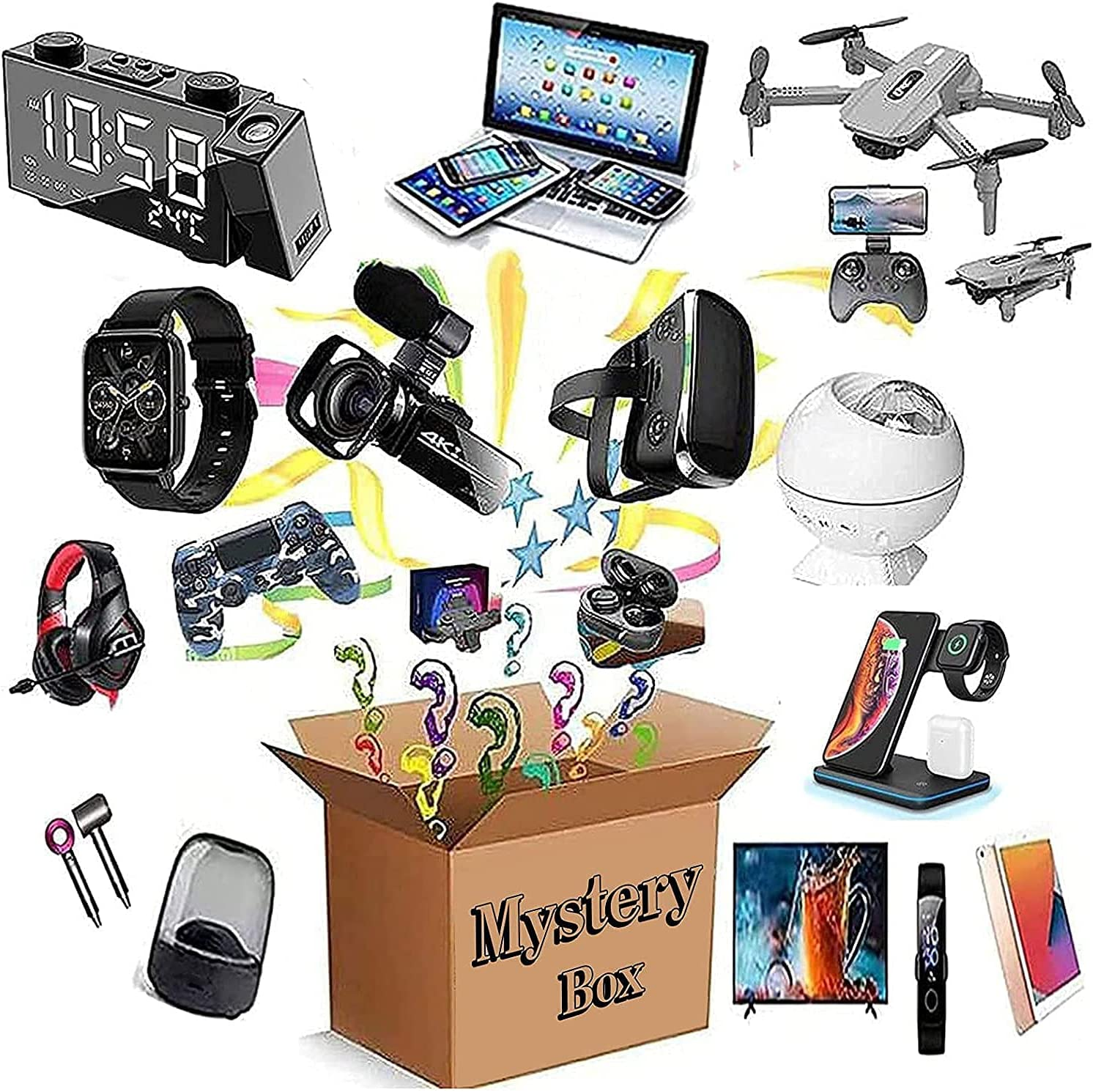 Mystery Items Max 63% OFF for Electronic Limited Special Price Gifts Surprise Makes Nice