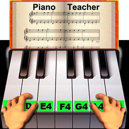 Profesor de piano real