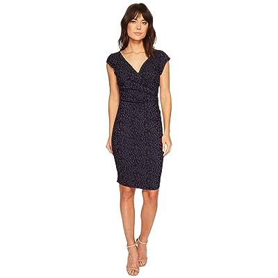 Nicole Miller Beckett Dress (Navy) Women