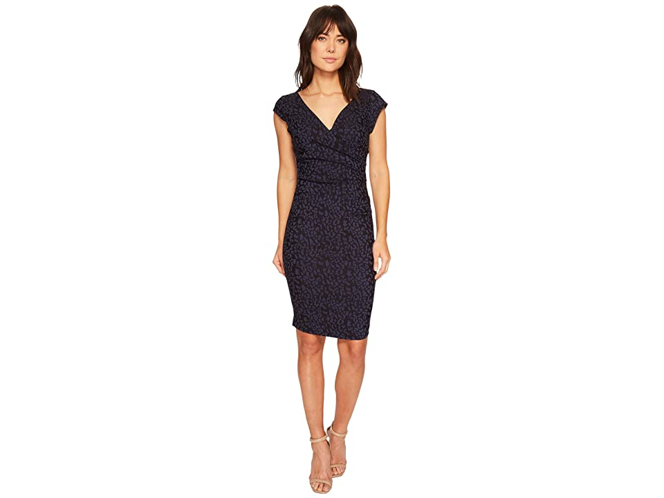 Nicole Miller Beckett Dress (Navy) Women