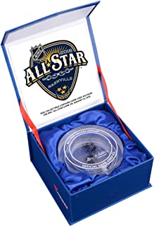 2016 NHL All-Star Game Crystal Puck - Filled With Ice From The 2016 NHL All-Star Game - Other Game Used NHL Items