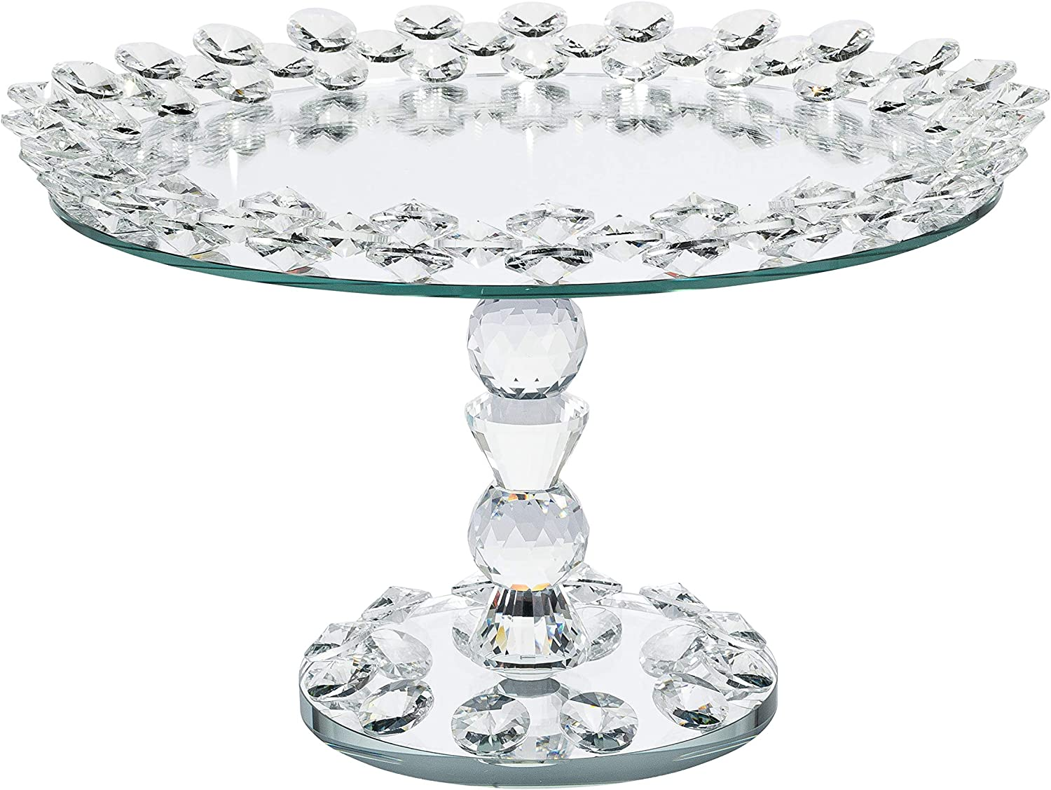 Simply Elegant Crystal Glass Quantity limited Cake 12.5