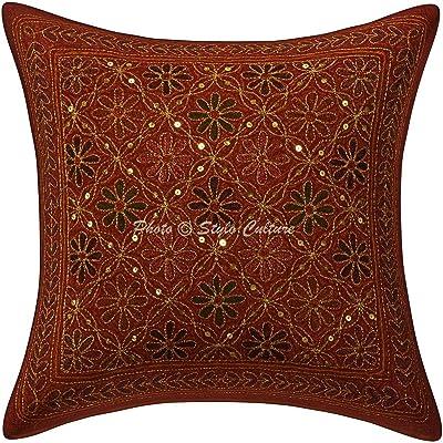 Amazon.com: Stylo cultura óxido algodón 16 x 16 lentejuelas ...