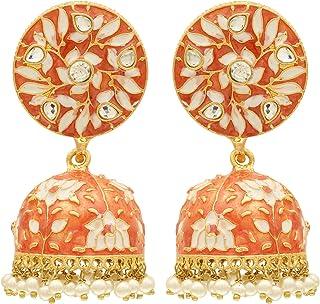 c4ef4ef07 Orange Women's Earrings: Buy Orange Women's Earrings online at best ...