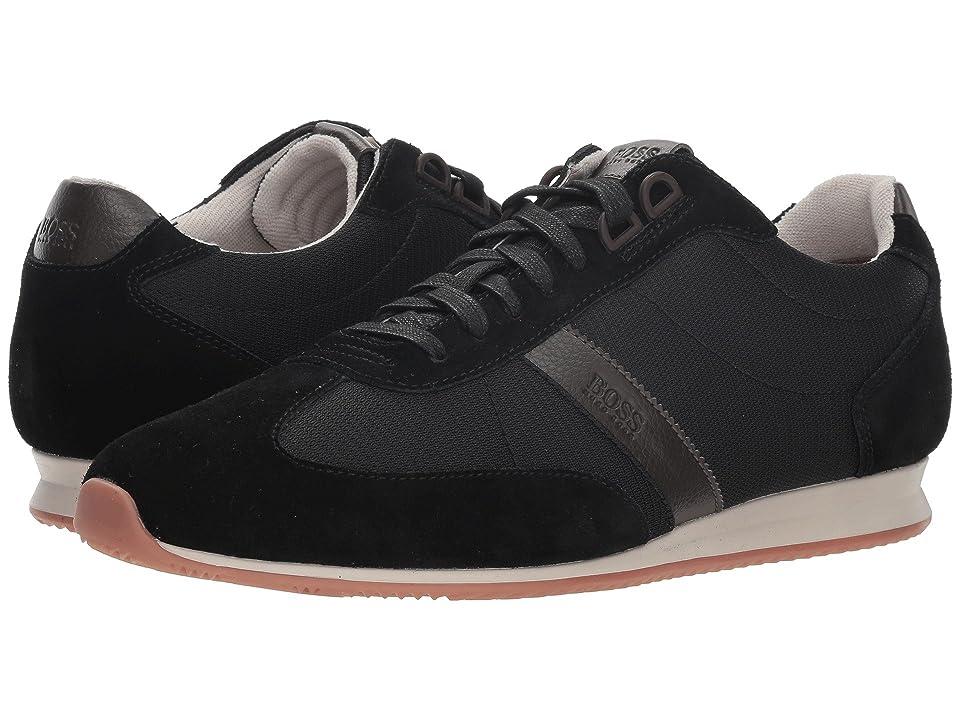 BOSS Hugo Boss Orlando Low Profile Sneaker by BOSS Green (Black) Men