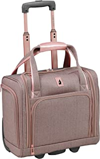 "London Fog Newcastle 15"" Under The Seat Bag, Rose Charcoal"