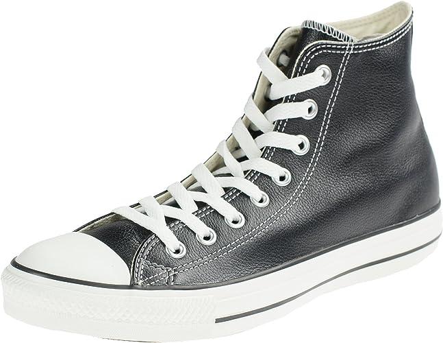 Converse All Star Hi Leather Core, Sneaker a Collo Alto Donna, Taglia Unica