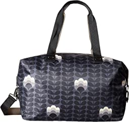 Buttercup Stem Printed Zip Holdall