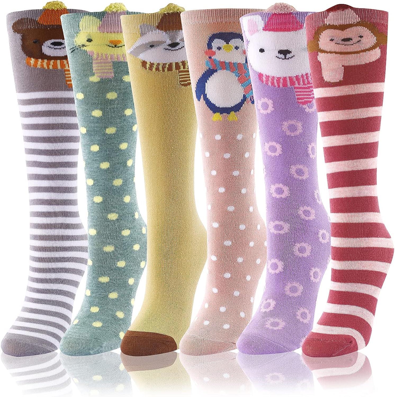 security SOCKFUN Girls Socks Gifts Anime Cartoon f Knee Animal High Weekly update