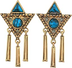 Durango Triangle Statement Earrings
