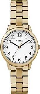 Timex Women's Quartz Watch, Analog Display and Stainless Steel Strap TW2R58900