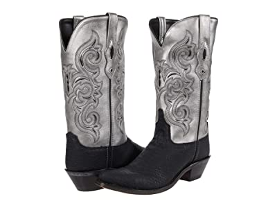 Old West Boots Silver Bullet (Black) Women