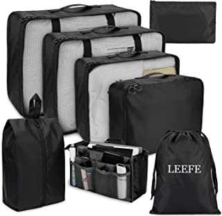 LEEFE トラベルポーチ 8点セット アレンジケース パッキング 旅行用