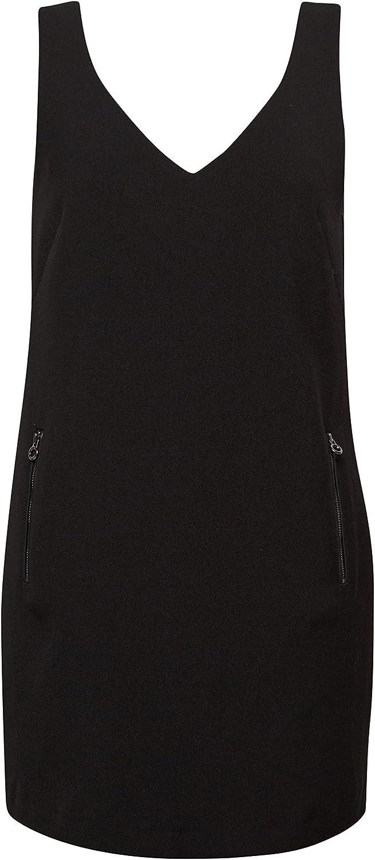 edc by Esprit dames jurk 117CC1E032 zwart (black 001)