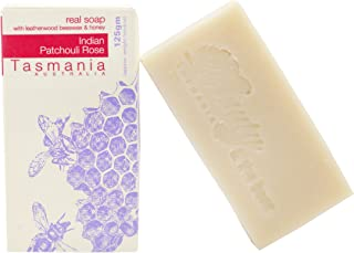 Beauty and the Bees Indian Patchouli Rose Soap with Leatherwood Honey   100% Chemical Free   Handmade in Tasmania Australia   All Natural