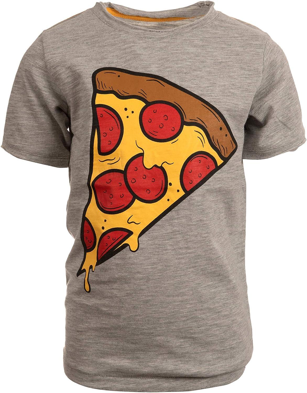 Appaman Kids Boy's Pizza Slice Graphic Short Sleeve T-Shirt (Toddler/Little Kids/Big Kids)