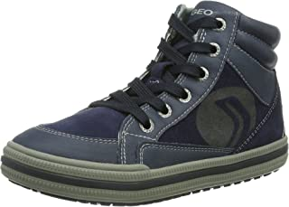 Toddler//Little Kid//Big Kid Geox MANIABOY8 Hi Top Sneaker