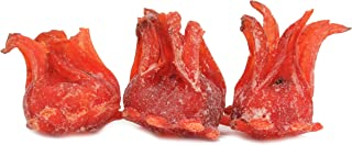 Dried Candied Hibiscus Flower by Its Delish, (1 lbs)