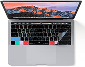 Logic Pro X Keyboard Cover for MacBook Pro with Touch Bar 13