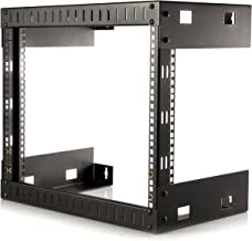 StarTech.com 8U Open Frame Wall Mount Network Rack - 2-Post 12