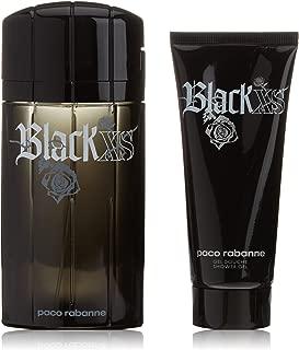 Paco Rabanne Black XS Gift Set 3.4oz (100ml) EDT + 3.4oz (100ml) Shower Gel