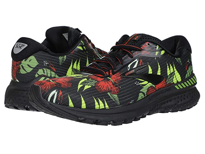 Brooks  Adrenaline GTS 20 (Black/Burnt Ochre/Green) Mens Running Shoes
