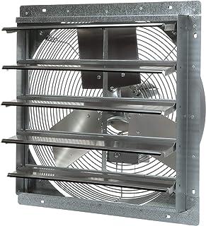 TPI Corporation CE20-DS Direct Drive Exhaust Fan – 120 Volt, 20 Inch Shuttered Industrial Fan. Workshop Ventilation Fans