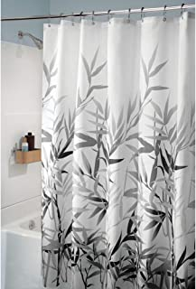 black white and silver shower curtains
