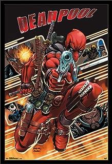 Trends International Wall Poster Deadpool Attack, 22.375 x 34