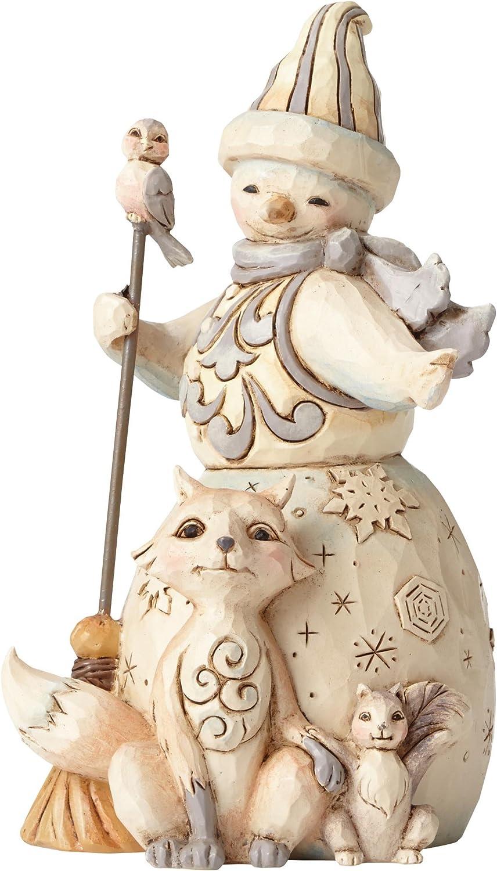 Enesco JS HWC Fig Anima Snowman Discount is also underway Wdlnd Figurine New product