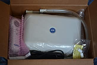 Used Select Comfort Sleep Number Air Bed Pump 2 Hoses for Dual Chamber Queen King California King Mattress PFCS03-DR