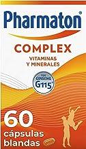 Pharmaton | Multivitamínico con ginseng | Complex 60 cápsulas | Ayuda a recuperar la energía