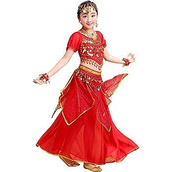 Grouptap Bollywood Girls Indian Princess Arabian Belly Dance Wear ...