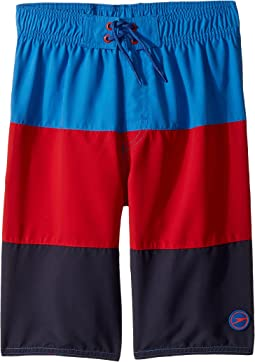 Blocked Volley Shorts (Little Kids/Big Kids)