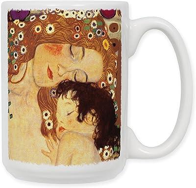 15 oz Art PlatesContratto Ceramic Coffee Mug