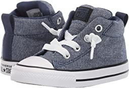 a2f9929b6115 Navy Black White. 15. Converse Kids. Chuck Taylor All Star Street Urchin -  Mid (Infant Toddler)