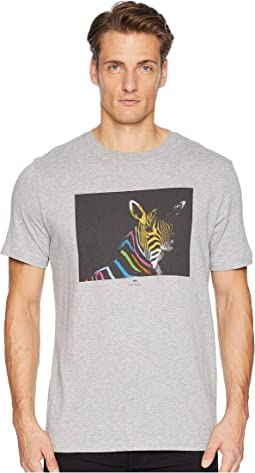 Regular Fit Tee Large Zebra
