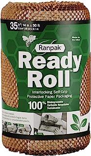 "30' x 14"" Ranpak Ready Roll Geami Protective Paper Cushioning Wrap (Bubble Alternative)"