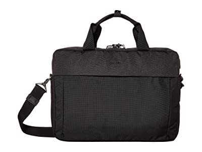 Pacsafe 15 Intasafe X Laptop Anti-Theft Slim Brief (Black) Briefcase Bags